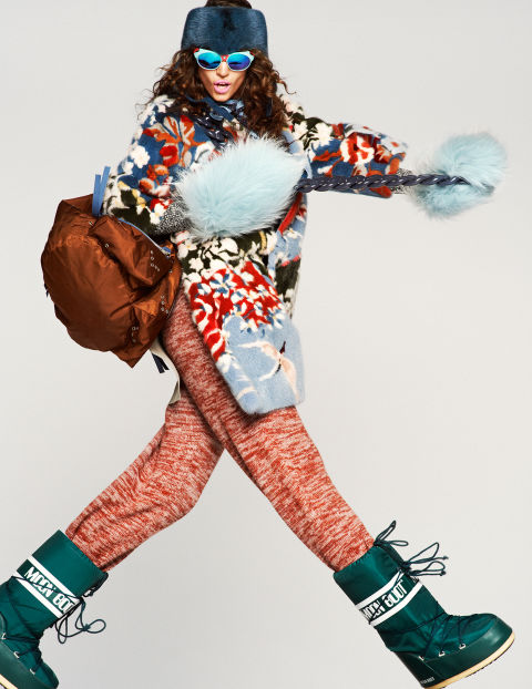 Elle editorial style inspiration for the slopes and the for A k a cedric salon nyc