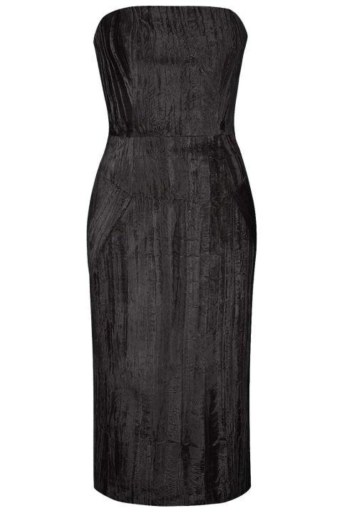 Topshop Mayal Midi Dress by Unique, $435; topshop.com