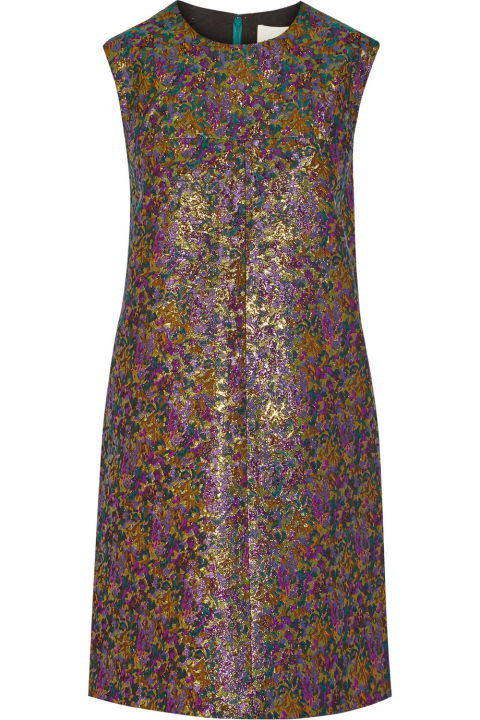 3.1 Phillip Lim Metallic Jacquard Mini Dress, $300; theoutnet.com