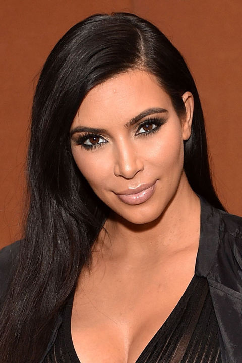 """LOS ANGELES, CA - JULY 24:  Kim Kardashian attends LACMA Director's Conversation With Steve McQueen, Kanye West, And Michael Govan About """"All Day/I Feel Like That""""  presented by NeueHouse in association with UTA Fine Arts at LACMA on July 24, 2015 in Los Angeles, California.  (Photo by Stefanie Keenan/Getty Images for LACMA)"""