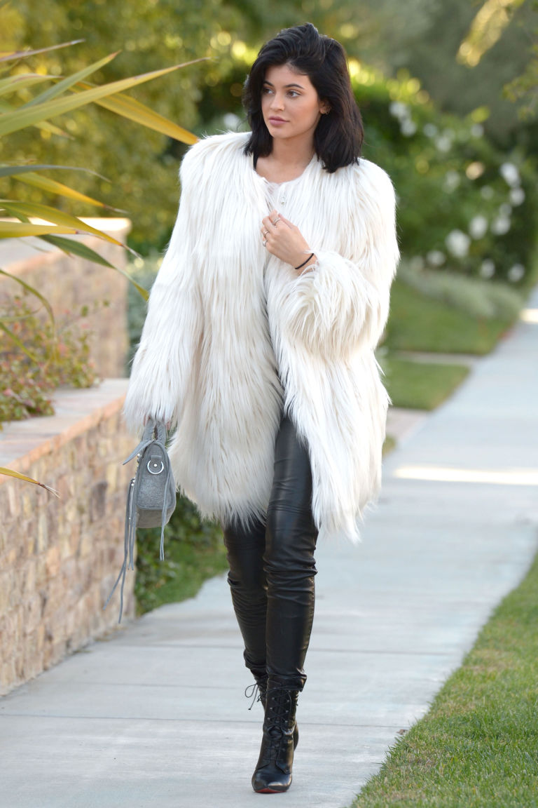 Kylie Jenner's $107 Coat Is Exactly What Your Holiday Party ...