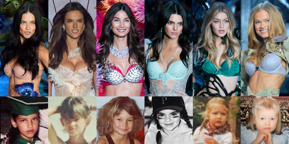 Victoria S Secret Models As Kids Before They Were Angels
