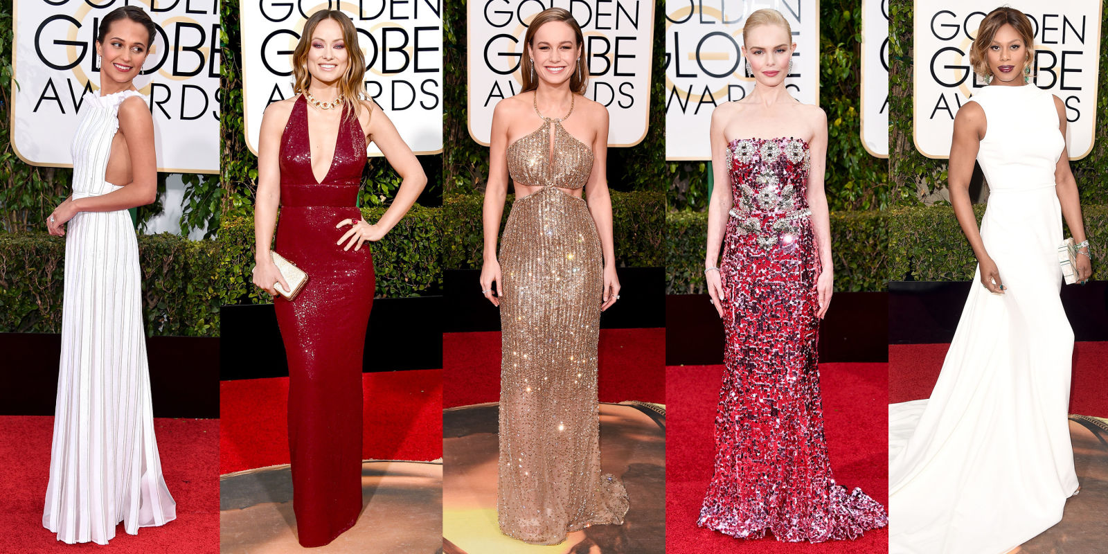 The Best Dresses From 2016 Golden Globes