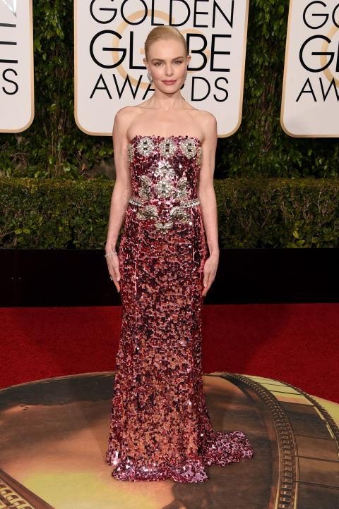 In Dolce & Gabbana dress and Norman Silverman Diamonds.
