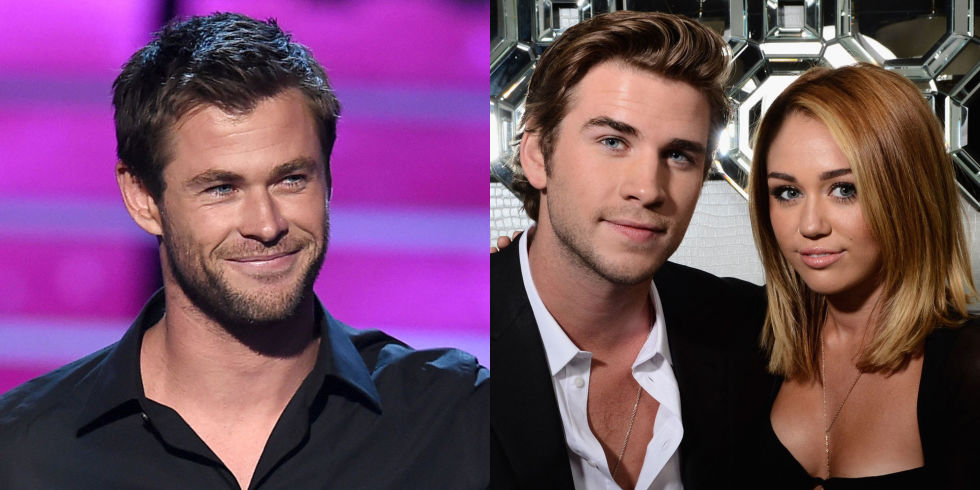 Chris Hemsworth Casually Addresses Liam and Miley's Re-Engagement