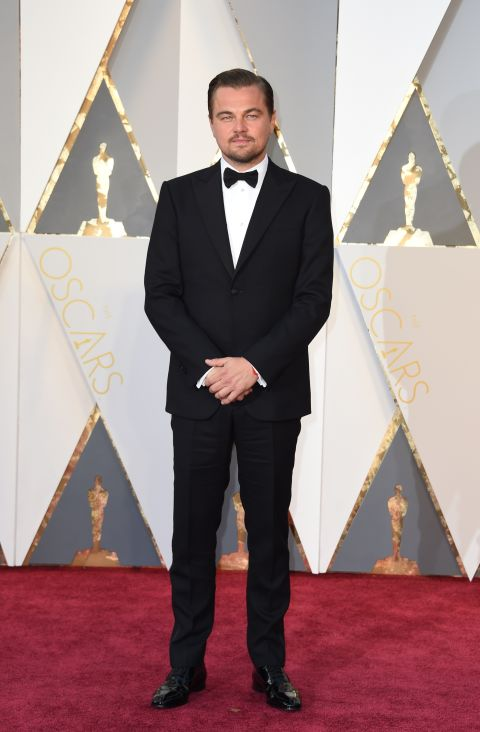 In Giorgio Armani Made to Measure suit and Christian Louboutin shoes.