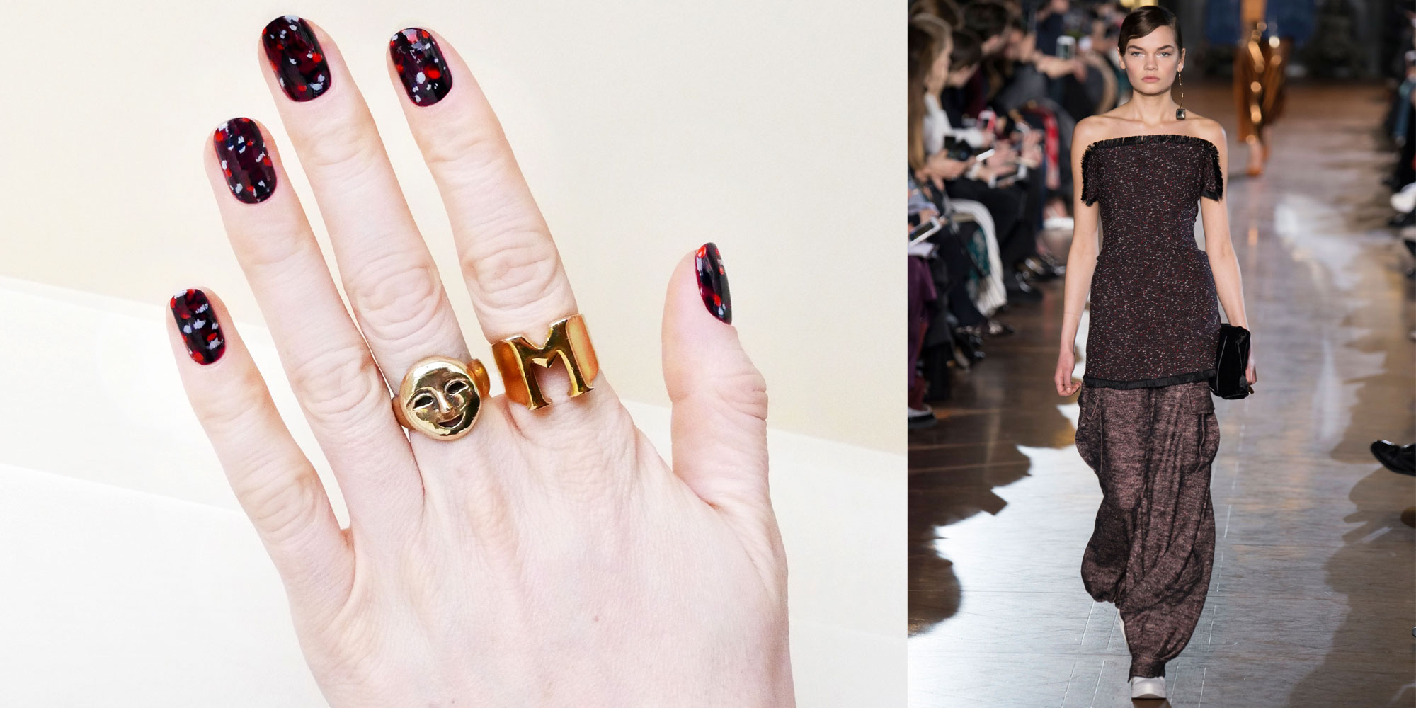 How to Get a Stella McCartney-Inspired Marble Manicure in ...