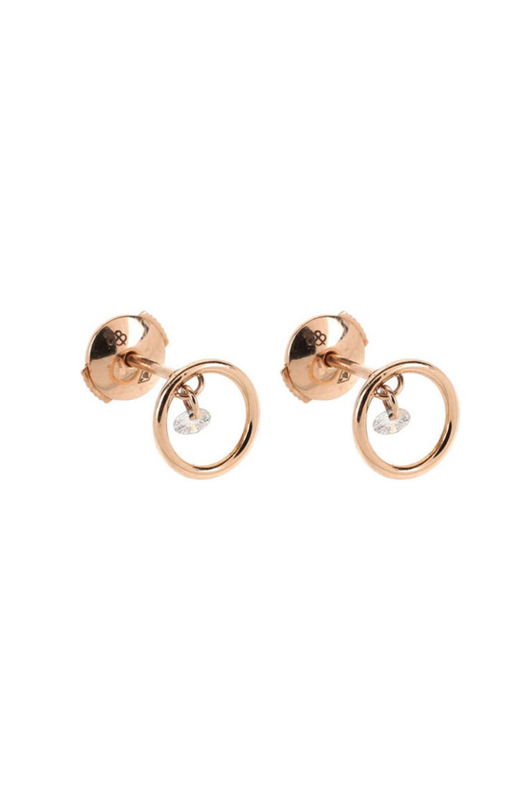 27 Stud Statement Earrings  Cool Rose Gold And Silver Stud Earrings For  Women