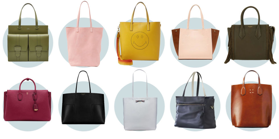 10 Leather Tote Bags You'll Love - 10 Best Carryall Bags