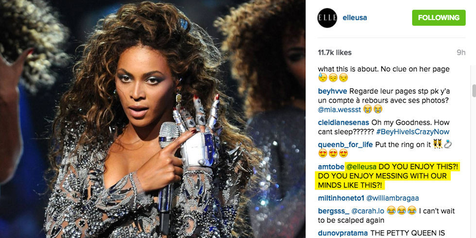 beyonce comments on elle may 2016 cover best beyonce