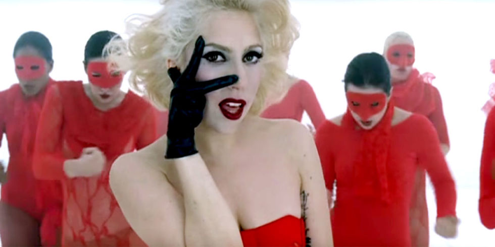 12 of Lady Gaga's Most Iconic Music Videos