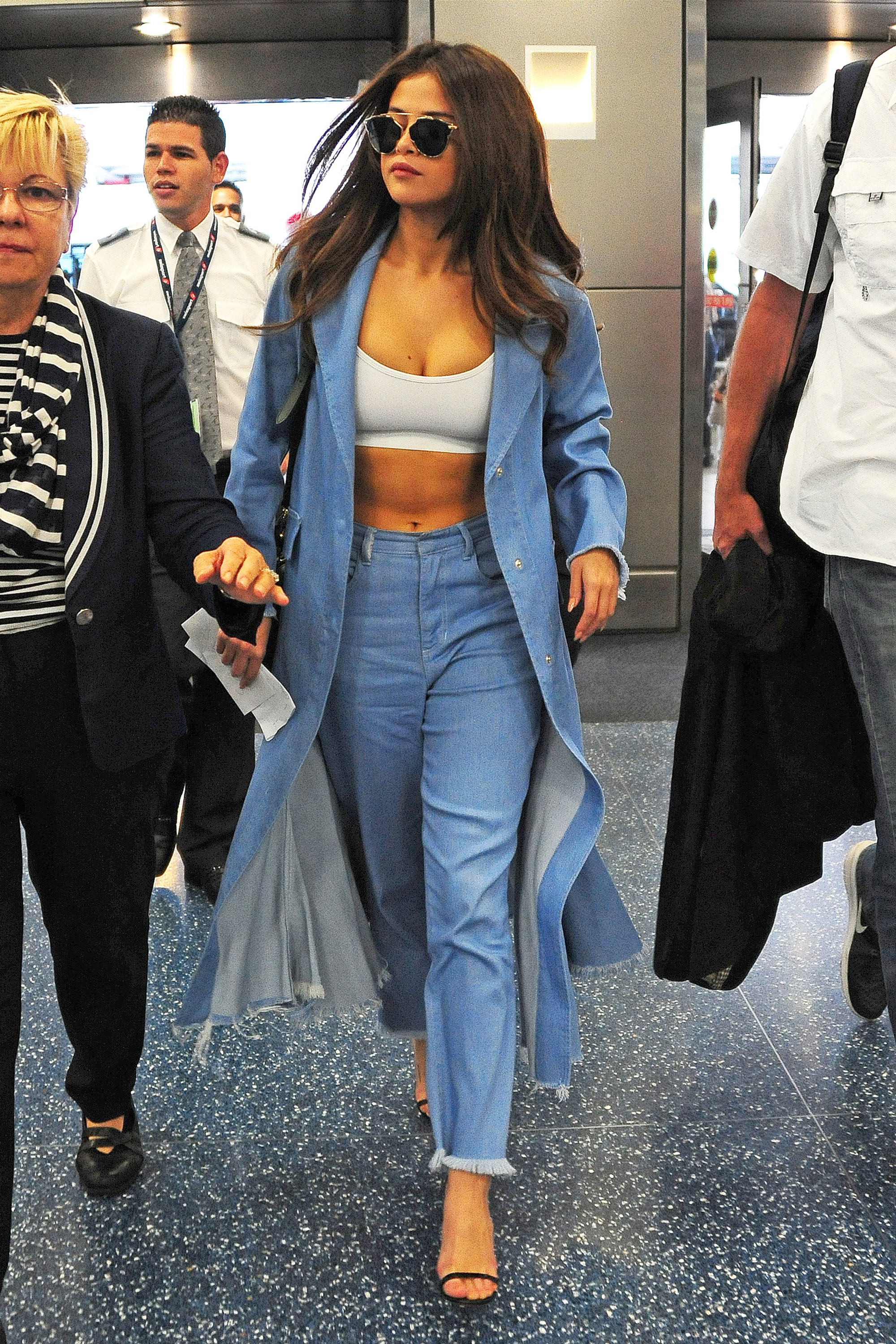 52bcc630084 Get The Look  Selena Gomez s Denim Outfit Is A Dream!