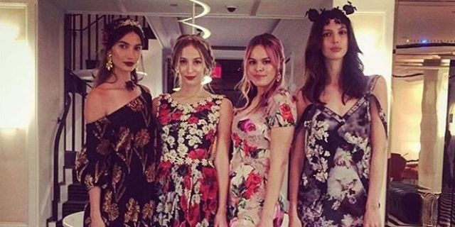 a66ad37d23d3 Last night was the annual Save Venice Ball in New York City and as usual  celebs donned their floral best for a charitable cause.