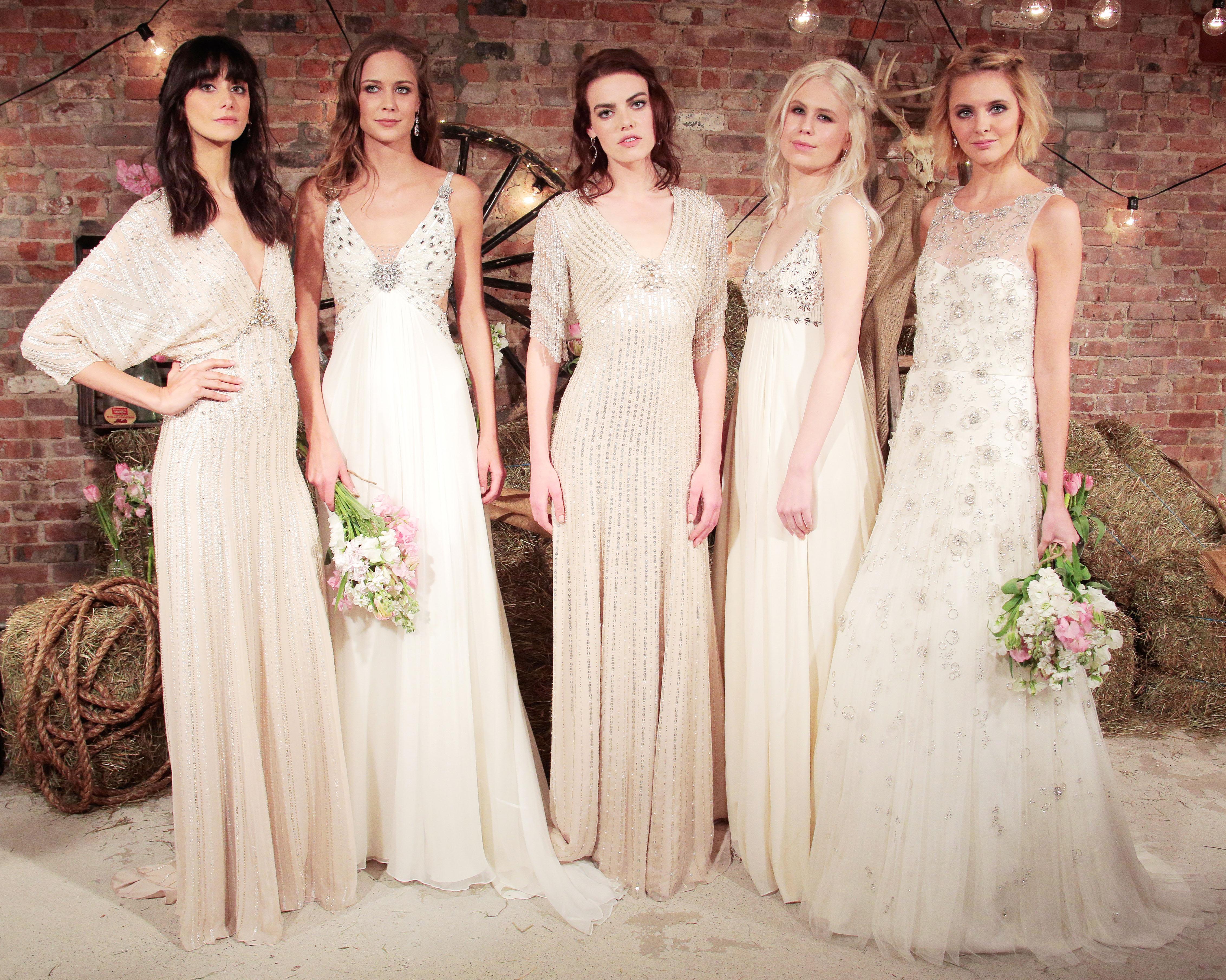 29 Beachy Wedding Dresses
