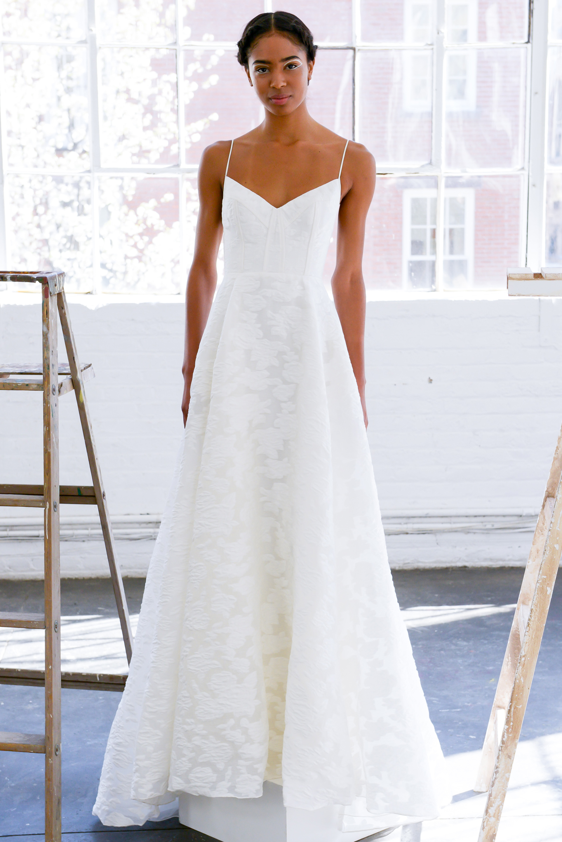 Simple Yet Stunning Wedding Dresses : Simple yet stunning dresses from spring bridal week