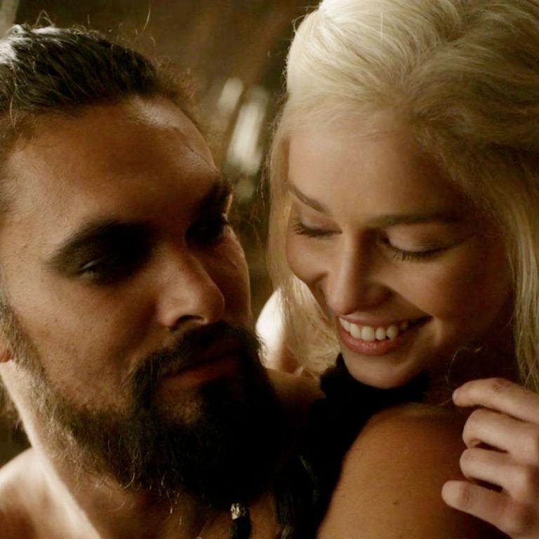 Game Of Thrones' Jason Momoa Instagrams To Emilia Clarke