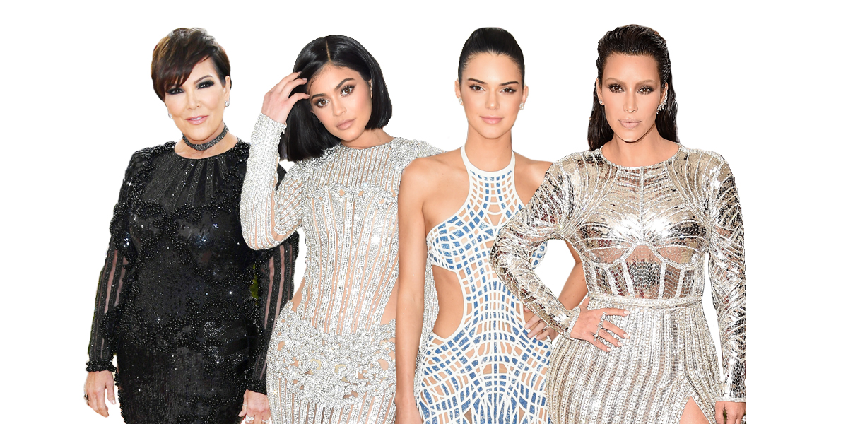 The Kardashian Family AKA The Balmain Army Storms the Met ...