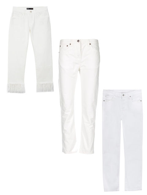 18 White Jeans for Women 2017 - How to Wear White Denim This Summer