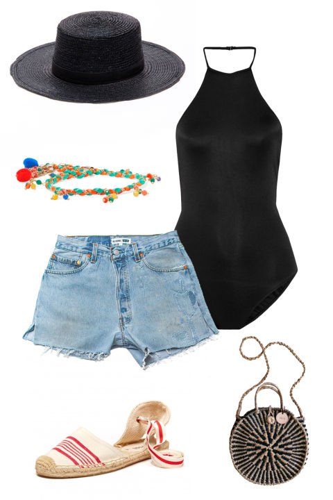 How to Wear High Waisted Shorts - Cute Outfits With High Rise ...