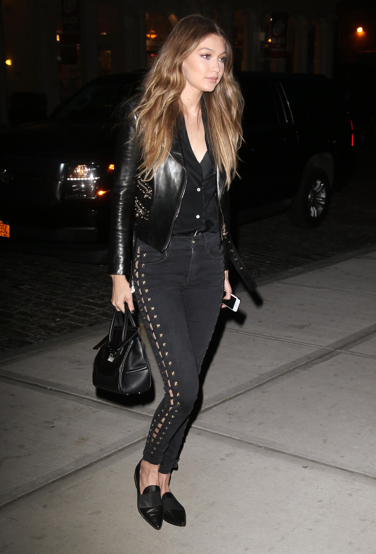 Gigi Hadid In Rihannas Fenty Pumas Fashion
