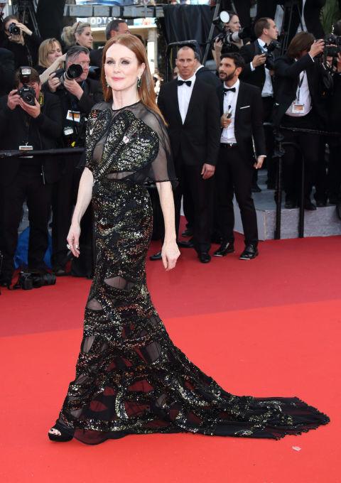 julianne moore gettyimages 530689604 - Церемония открытия Каннского кинофестиваля - 2016: красная дорожка.