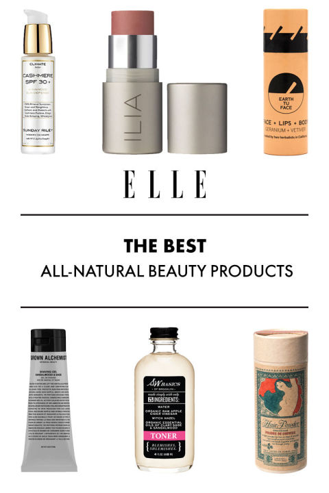 Where can you find reviews on natural skincare products?