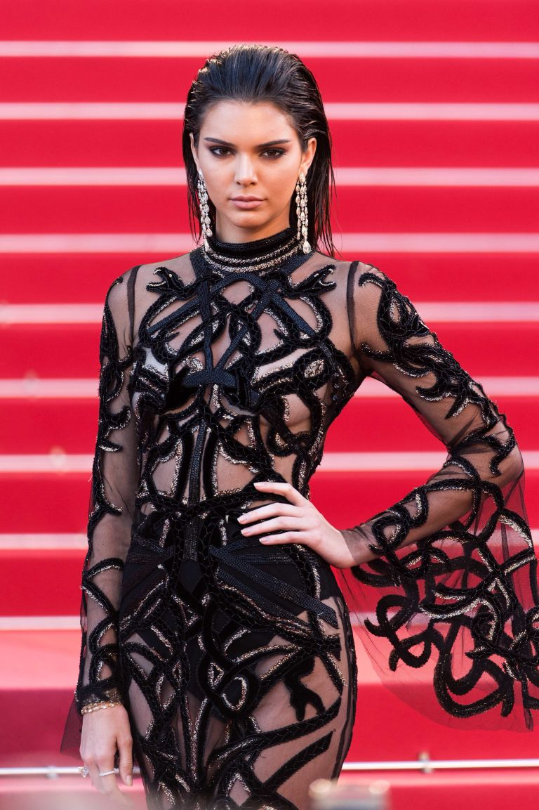 Kendall Jenner poses topless in La Perla underwear campaign