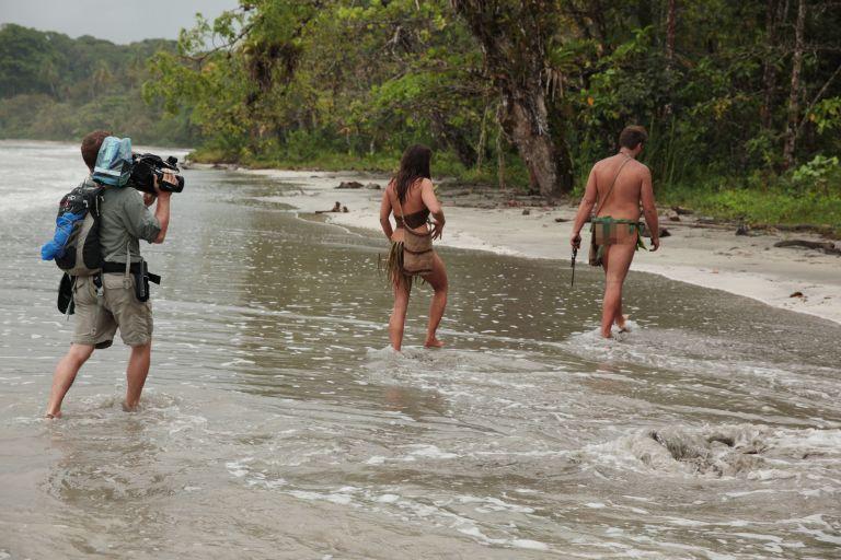 scene of naked and afraid