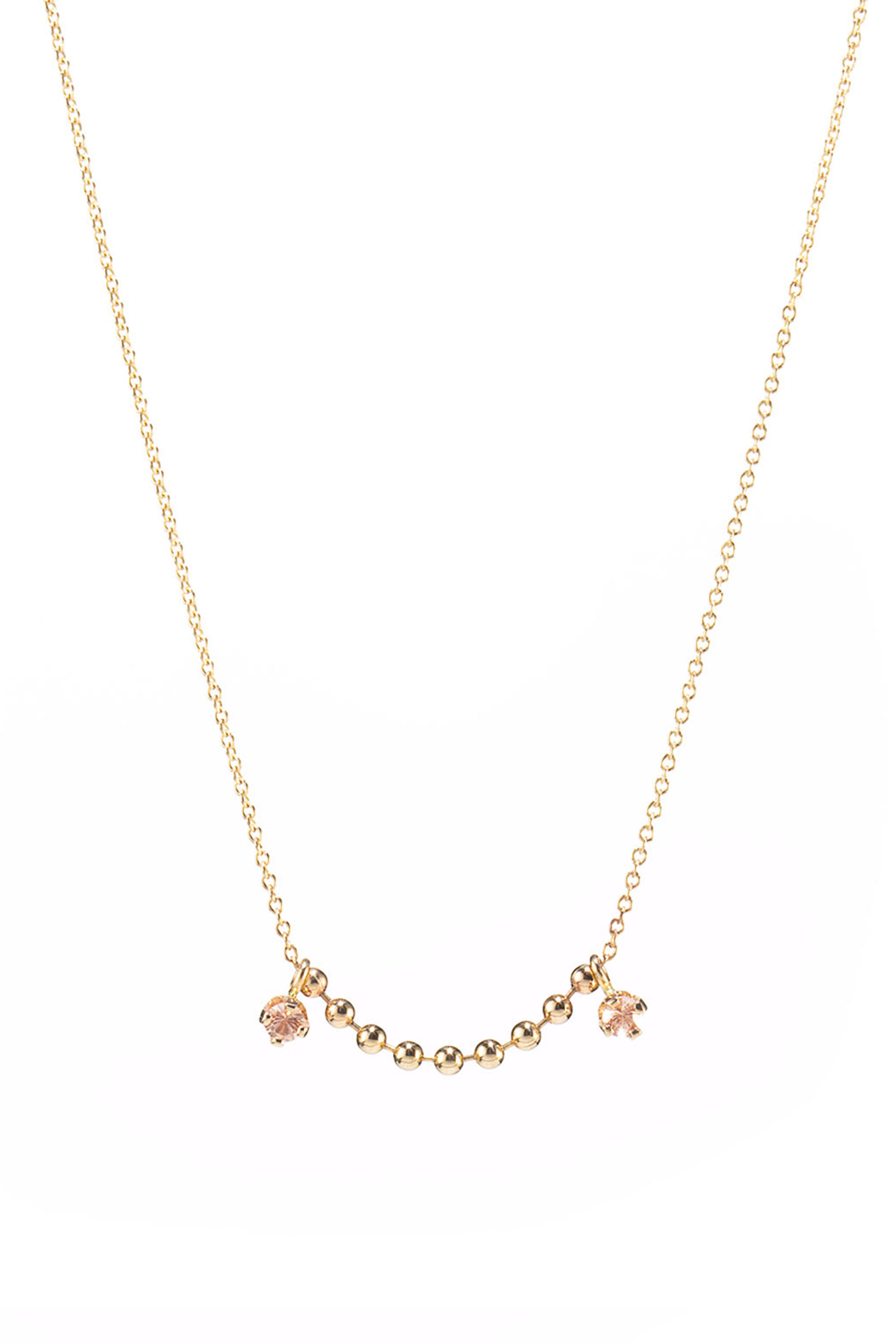 23 delicate gold necklaces we love in 2016 minimalist for Women s minimalist jewelry