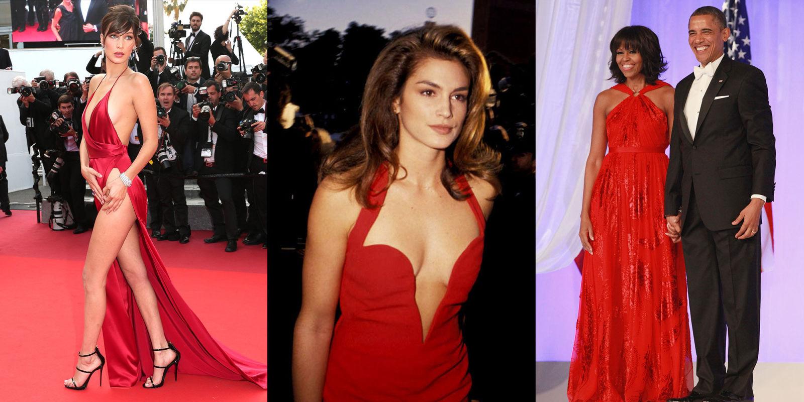 Красное платье звезды 3