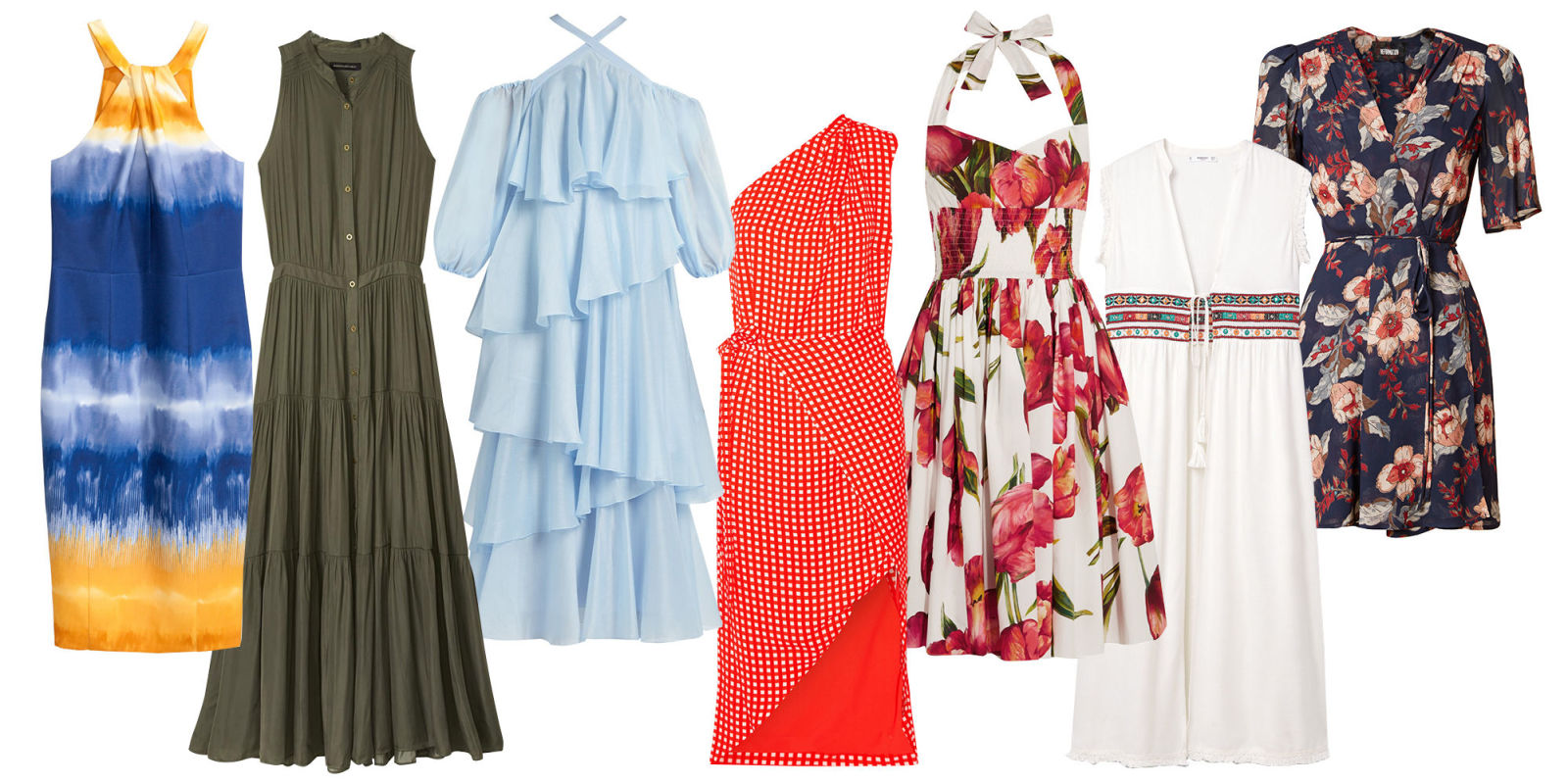 Types of summer dresses trending