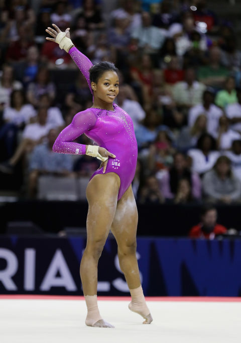 2016 Us Olympics Gymnastics Team Members Gabby Douglas