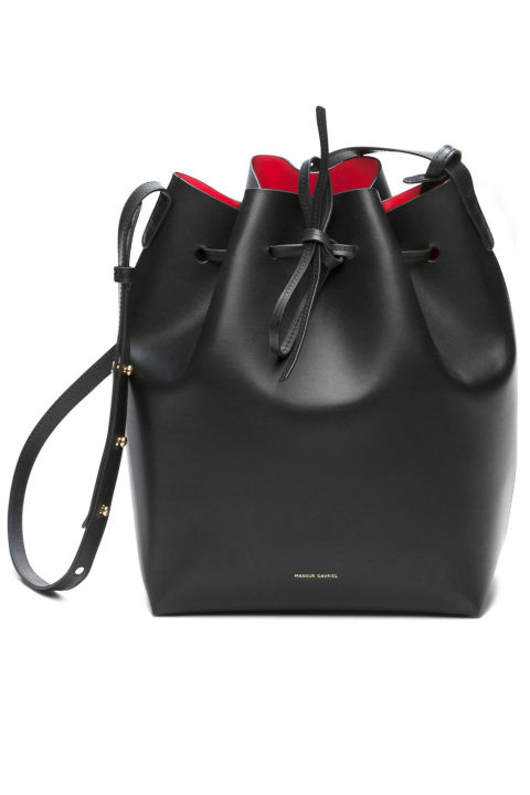 prada saffiano lux tote purple - 34 Bucket Bags at Every Price Point - Best Bucket Bags to Buy Today