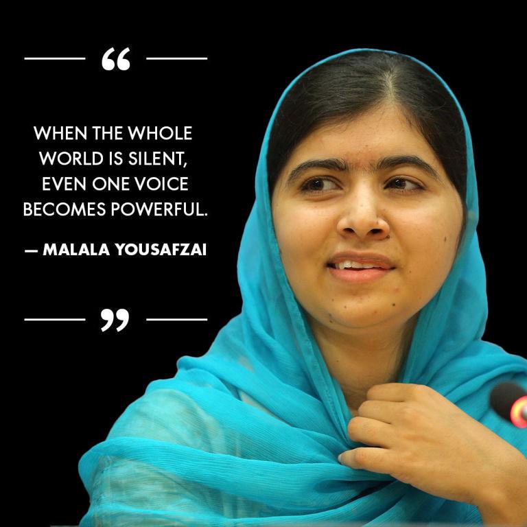 Birthday Girl Malala Yousafzai's 19 Most Inspiring Quotes - Happy ...
