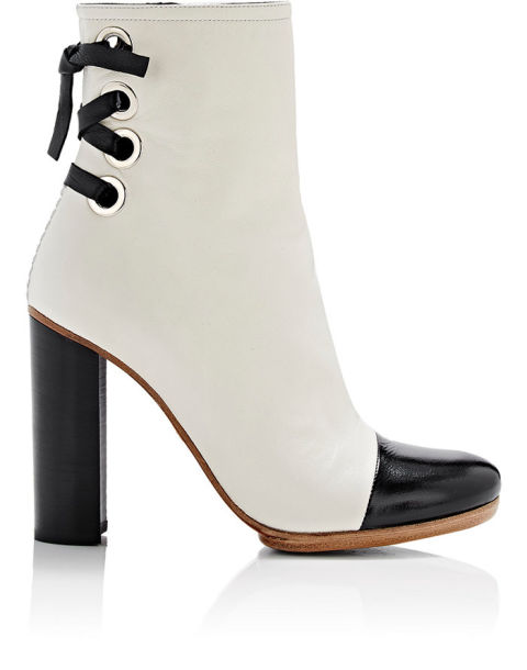 Proenza Schouler Lace-Up Cap-Toe Boots, $950; barneys.com