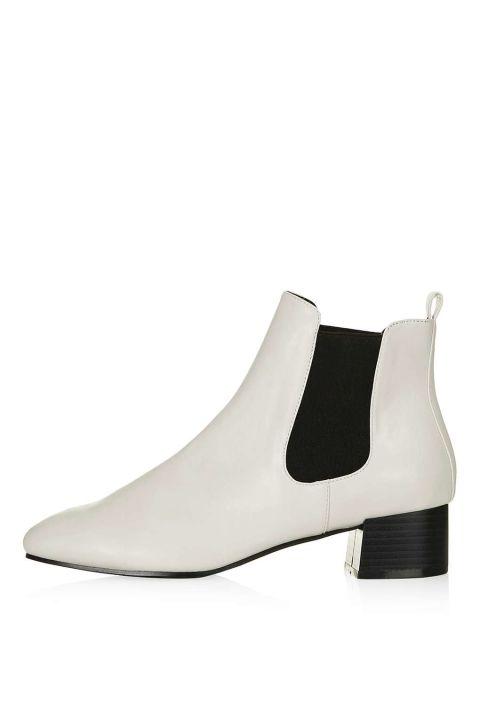 Topshop Kola Square Toe Boot, $60; us.topshop.com