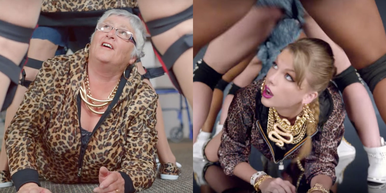 80 Year Olds Cover Taylor Swift