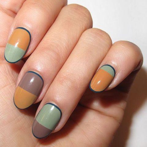 best fall nail art designs  9 noncheesy nail art ideas