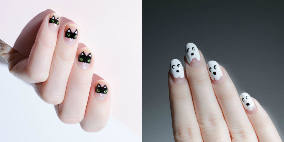 9 Halloween Nail Art Ideas - Cute Designs for Halloween Manicures