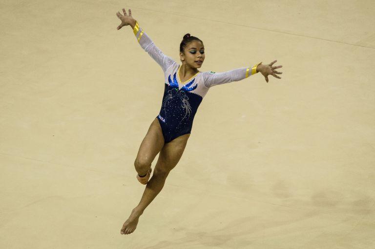 Flavia Saraiva Brazilian Gymnast Elle