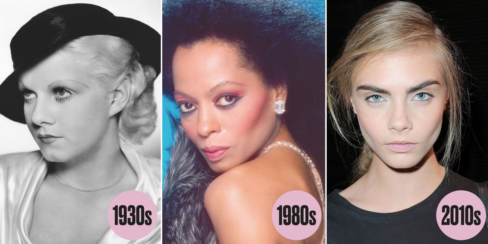 Eye Makeup Trends Through The Years