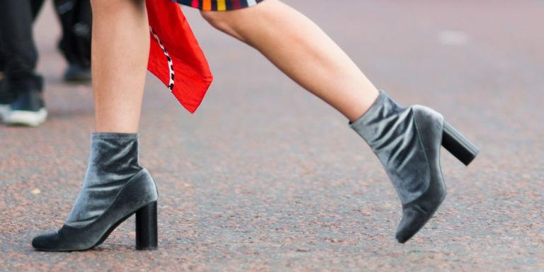 Velvet shoes styles winter 2016