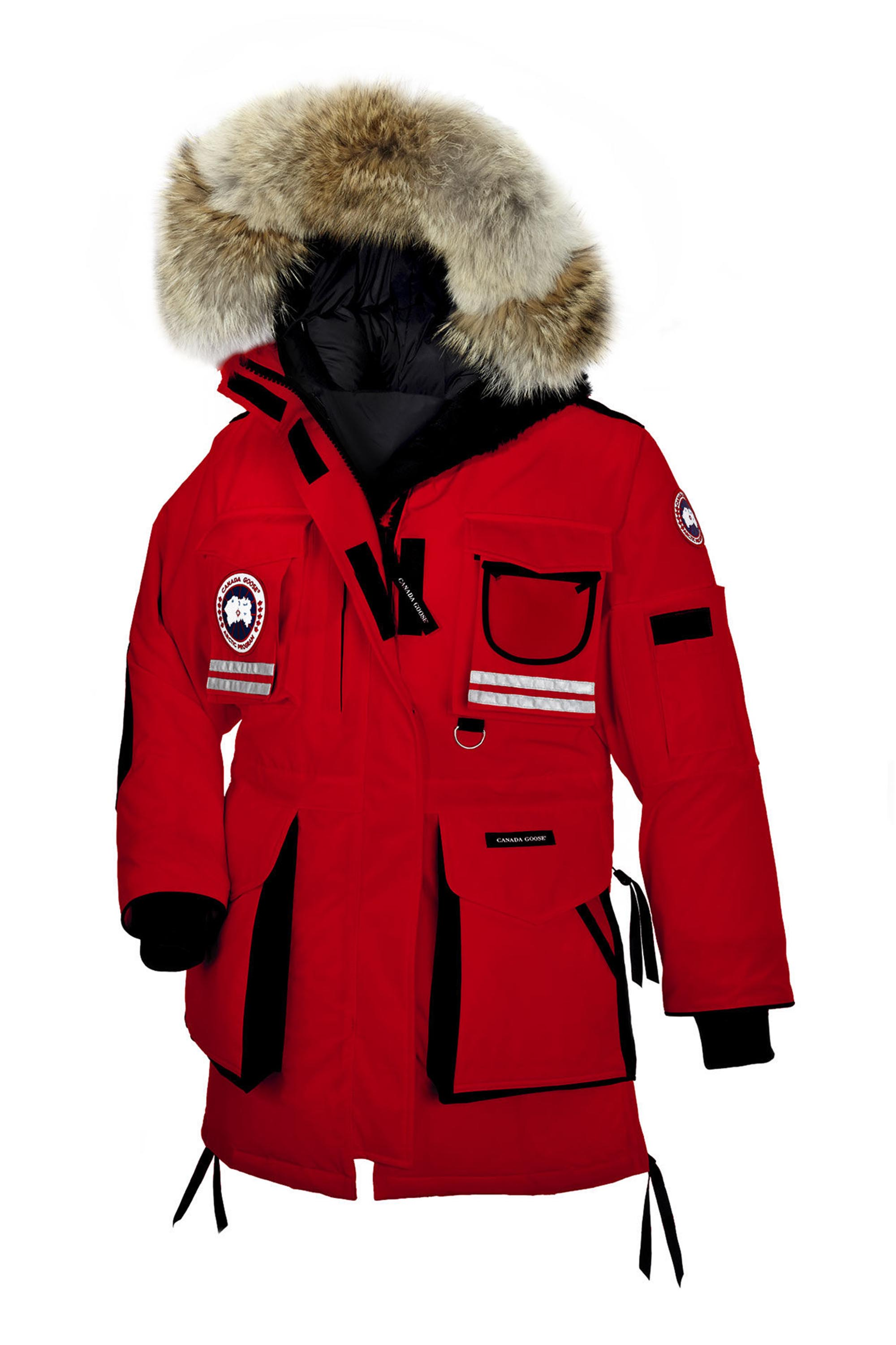 Our Editors' Choice award winner, the Canada Goose Kensington Parka, is the epitome of a classic winter jacket. Oozing with style from head to toe, this knee-length contender is a show stopper. From the smooth, sleek, water-resistant outer shell to the adjustable cinched-waist, no detail has been left out.