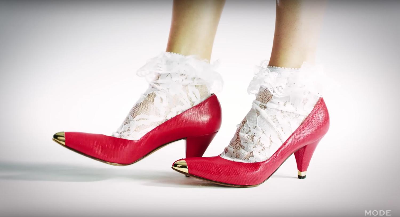 Բարձրակրունկ կոշիկների նորաձևության էվոլյուցիան. Տեսանյութ