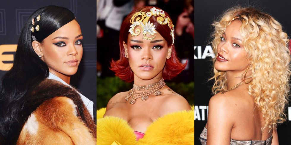 Miraculous 50 Best Rihanna Hairstyles Our Favorite Rihanna Hair Looks Of Short Hairstyles Gunalazisus
