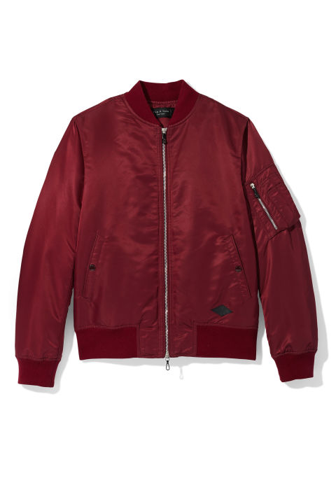 Rag & Bone Nylon Jacket, $595; collection at Saks Fifth Avenue stores nationwide
