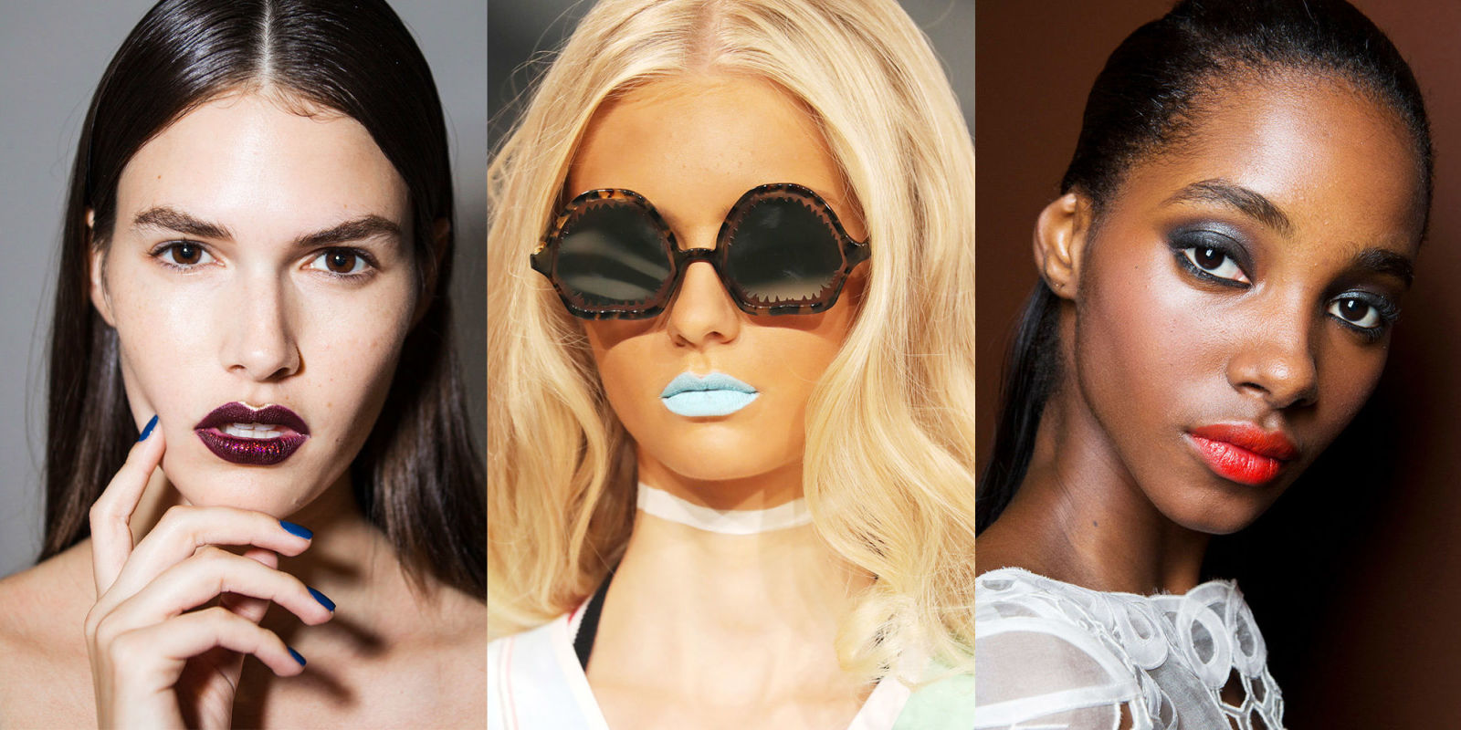 Fashion Week Beauty 2018: Spring 2017 Makeup Trends