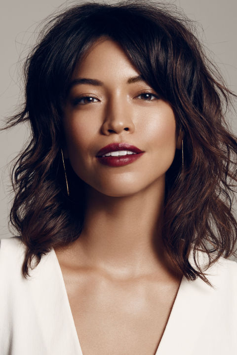 """An ultra-dark, mattepout is the gotta-have-it look of the season. And the genius thing about going strong on the lip is you can slack on the rest your makeup. """"Let your skin speak for itself with a dewy, healthy glow that contrasts the matte texture of the lip,"""" says Park. """"You don't even need blush. Instead, use a little bronzer to warm up your face and to lightlycontour."""" Keep youreyes naked save for a bit of a bronzy cream highlighter in the inner corners and on the center of the lids. """"The more undone looking, the edgier the vibe,"""" she explains."""