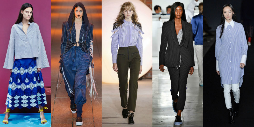 The Top Trends From Spring to Summer 2017 New York Fashion Week