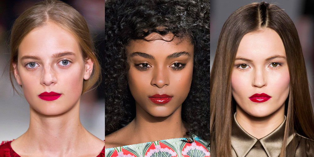Flattering Red Lipstick For Fair Olive And Dark Skin